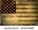instagram filtered image of a... | Shutterstock . vector #294616880
