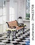 wooden chair portrait | Shutterstock . vector #294623708