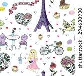 paris card | Shutterstock .eps vector #294638930