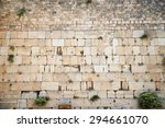 Western Wall In The Old City O...