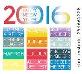2016 calendar in a  new...
