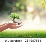 new begin concept  educator... | Shutterstock . vector #294667586