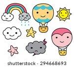 kawaii  cute  sky  weather and...