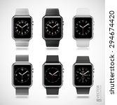 set of 6 modern shiny smart...   Shutterstock .eps vector #294674420