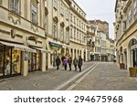 krems  austria   march 21 ... | Shutterstock . vector #294675968