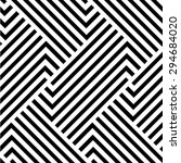 the geometric pattern by... | Shutterstock . vector #294684020
