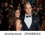 Robbie Williams And Ayda Field...