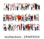 united colleagues teamwork... | Shutterstock . vector #294693314