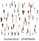 isolated groups together we... | Shutterstock . vector #294698606