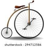 Penny Farthing Vintage Bicycle...