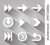 arrows digital image design ... | Shutterstock .eps vector #294726866