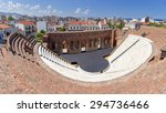 roman odeon  patras  greece | Shutterstock . vector #294736466