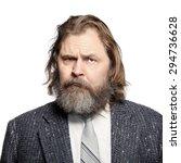 close up portrait of a... | Shutterstock . vector #294736628
