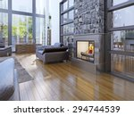 idea of avant garde living room ... | Shutterstock . vector #294744539