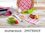 Healthy And Tasty Lunch Box Fo...