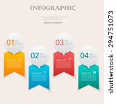 business infographic template...   Shutterstock .eps vector #294751073