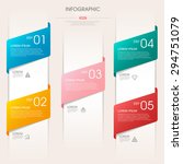 business infographic template... | Shutterstock .eps vector #294751079