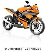 motorcycle motorbike bike...   Shutterstock . vector #294755219