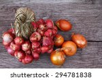 organic red and orange color of ...