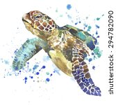 Sea Turtle T Shirt Graphics ...