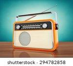vintage radio | Shutterstock . vector #294782858