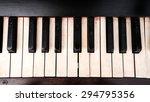 Piano Keyboard  See Black And...