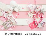 Pink Christmas Decorations Wit...