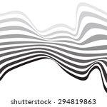 mobious optical art wave vector ... | Shutterstock .eps vector #294819863