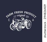 Vector Retro Farm Fresh...