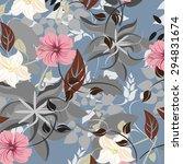 vector seamless pattern... | Shutterstock .eps vector #294831674