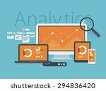 flat design vector illustration ... | Shutterstock .eps vector #294836420