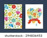 Bright Floral Cards In Summer...