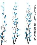 calligraphic decorative... | Shutterstock .eps vector #294839498