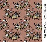 watercolor seamless pattern... | Shutterstock . vector #294846080