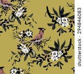 watercolor seamless pattern... | Shutterstock . vector #294846083