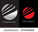 abstract logo design. logo... | Shutterstock .eps vector #294848888