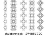 vector illustration of... | Shutterstock .eps vector #294851720