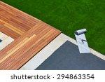 artificial grass turf... | Shutterstock . vector #294863354