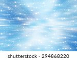 bright abstract blue background ... | Shutterstock . vector #294868220