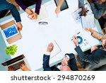 diversity business team... | Shutterstock . vector #294870269