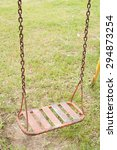Empty Swing On Children...