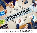 promotion marketing branding... | Shutterstock . vector #294876926