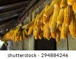 corns drying | Shutterstock . vector #294884246