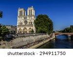 cathedral notre dame de paris   ...