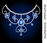 jewellery diamond decoration... | Shutterstock .eps vector #294912536