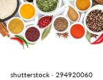 various spices selection.... | Shutterstock . vector #294920060