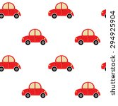 seamless car pattern | Shutterstock .eps vector #294925904