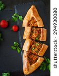 turkish pide traditional food... | Shutterstock . vector #294930080