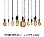 decorative antique edison style ... | Shutterstock . vector #294966539