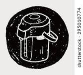 doodle kettle | Shutterstock .eps vector #295010774